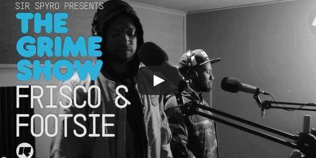 BRITHOPTV- [Video Set] Frisco (@BigFris) & Footsie (@Footsie) on Sir Spyro's (@SirSpyro) The #GrimeShow [@RinseFM] I #Grime