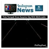 BRITHOPTV: [News] Tinie Tempah (@TinieTempah) Does  Surprise Gig With McDonalds | #UKRap #MusicNews #News