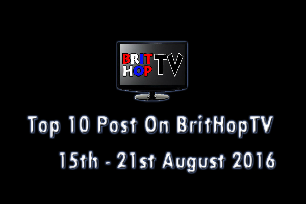 BHTV Top 10 header 15th - 21st August 2016