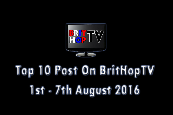 BHTV Top 10 header 1st - 7th August 2016