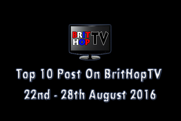BHTV Top 10 header 22nd - 28th August 2016