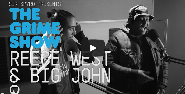 BRITHOPTV- [Video Set] Reece West (@MrReeceWest) & Big John (@BigJohn) on Sir Spyro's (@SirSpyro) The #GrimeShow [@RinseFM]I #Grime