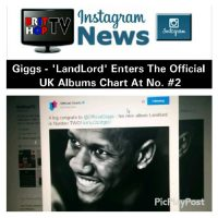 BRITHOPTV: [News] Giggs (@OfficialGiggs) - 'Landlord' Enters The  Official UK Albums Chart At  No. #2 | #UKRap #UKHipHp #MusicNews