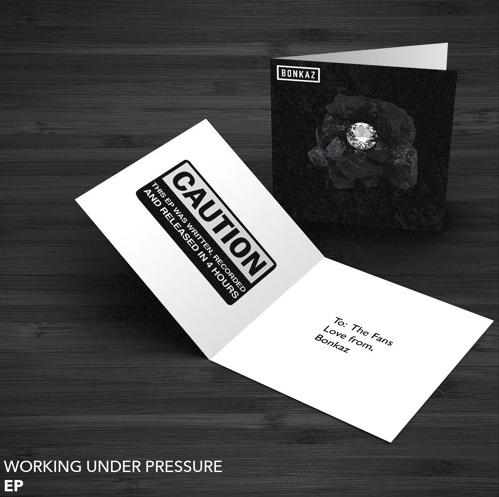 BRITHOPTV: [New Release] Bonkaz (@Bonkaz) - 'Working Under Pressure' E.P. OUT NOW! [Rel. 28/09/16]   #UKRap #UKHipHop