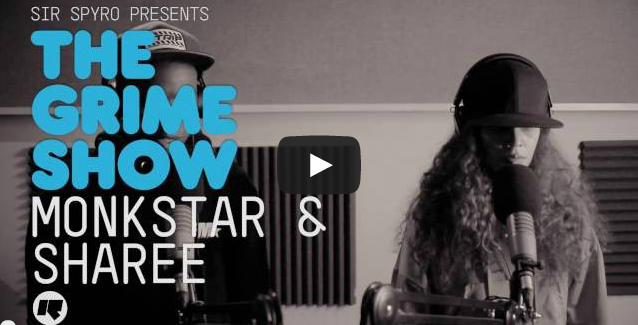 BRITHOPTV: [Video Set] Monkstar (@MonkstarMuzic) & Sharee (@ShareeArtist) on Sir Spyro's (@SirSpyro) The #GrimeShow [@RinseFM] | #Grime