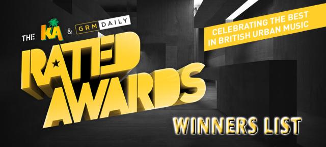 BRITHOPTV: [News] GRM Daily (@GRMDaily) & KA Drinks (@KADrinks) Rated Awards 2016 Winners List | #Grime #UKHipHop #MusicNews