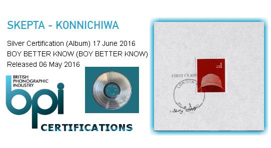 BRITHOPTV: [News] Skepta (@Skepta) - 'Konnichiwa' Goes Silver | #Grime Music #MusicNews