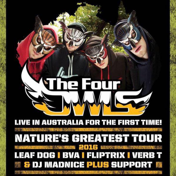 BRITHOPTV: [News/Event] High Focus Records Announce 'The Four Owls' Australian Tour (October 2016)  | #UKRap #UKHipHop