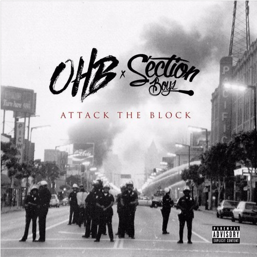 BRITHOPTV: [New Release] Chris Brown (@ChrisBrown) x OHB (@YoungLo @youngblacc_ohb theluvaboytj @HoodyBaby_) X Section Boyz (@SectionBoyz_) - 'Attack The Block' Mixtape OUT NOW! [Rel. 29/10/16] | #Rap #HipHop #RNB