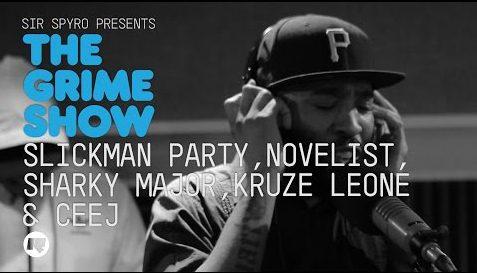 BRITHOPTV: [Video Set] Slickman Party (@SlickmanParty), Novelist (@Novelist), Sharky Major (@SharkyMajor), Kruz Leon (@KruzLeon) & CeeJ(@CeeJ_LDN) on Sir Spyro's (@SirSpyro) The #GrimeShow [@RinseFM]   #Grime