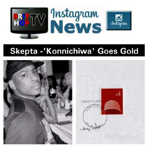 BRITHOPTV: [News] Skepta (@Skepta) - 'Konnichiwa' Goes Gold | #Grime Music #MusicNews
