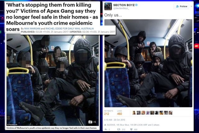 BRITHOPTV: [News] Daily Mail Slammed For Using Section Boyz's Image In Unrelated Story On Australia's Apex Gang | #UKRapNews #MusicNews