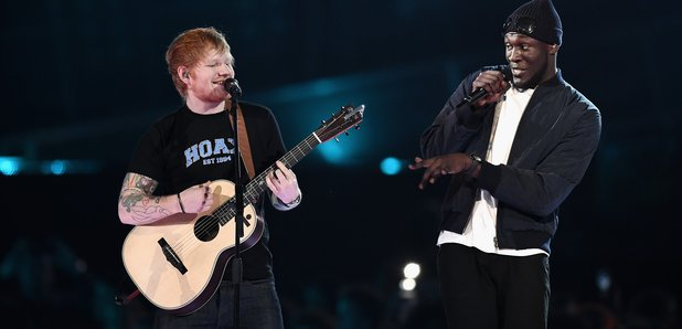 BRITHOPTV: [News] Ed Sheeran (@EdSheeran) Brings Out Stormzy (@Stormzy1) To Perform - 'Shape Of You Remix' At The #BRITAwards2017 | #News #MusicNews