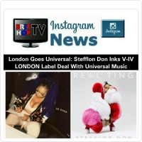 BRITHOPTV: [News] London Goes Universal: Stefflon Don Inks V-IV LONDON Label Deal With Universal Music | #Music #MusicNews