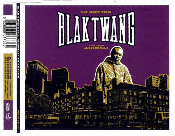 BRITHOPTV: [Old Skool Track Of The Day] Blak Twang (@BlakTwang) - 'So Rotton Ft. Jahmali (@JAHMALIdeArtist)' [2002] #TBT | #UKRap #UKHipHop