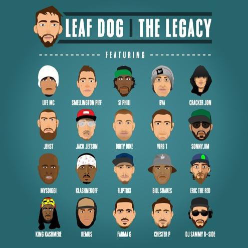 BRITHOPTV: [New Music] Leaf Dog (@MCLeafDog) – 'The Legacy Ft. UK Hip-Hop Allstars' [@HighFocusUK] | #UKRap #UKHipHop