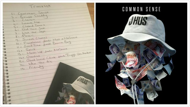 BRITHOPTV: [News] J Hus (@JHus) Releases 'Common Sense' Artwork And Tracklist | #UKRap #UKHipHop #MusicNews