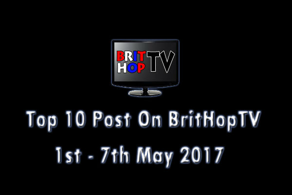 BHTV Top 10 header 1st - 7th May 2017