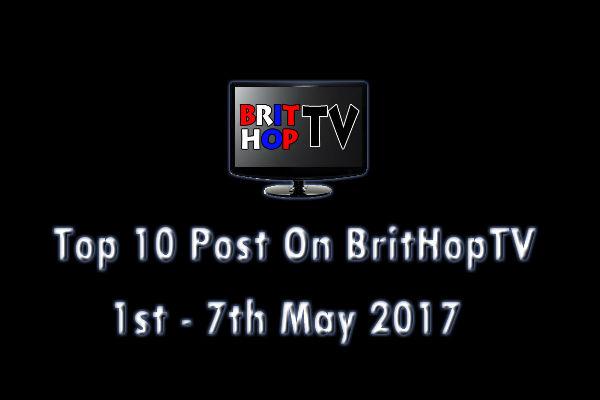 BHTV Top 10 header 1st - 7th May 2017