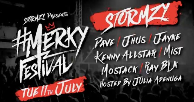 BRITHOPTV: [News/Event] Stormzy Announces Line-Up For First Ever #MERKY Festival , Tuesday, 11th July, 2017 |  #Grime #UKRap #MusicNews