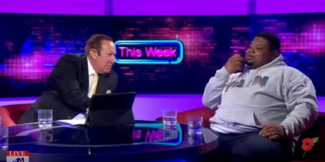 BRITHOPTV: [News] Big Narstie (@BigNarstie) Appears On This Week To Discuss 'The Establishment' | #Grime #Politics #Discussione