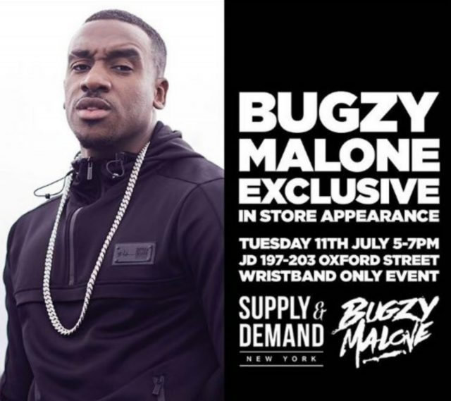 BRITHOPTV: [News/Events] Bugzy Malone (@TheBugzyMalone) To Embark On JD Sports Meet & Greet Tour #Manchester | #Grime