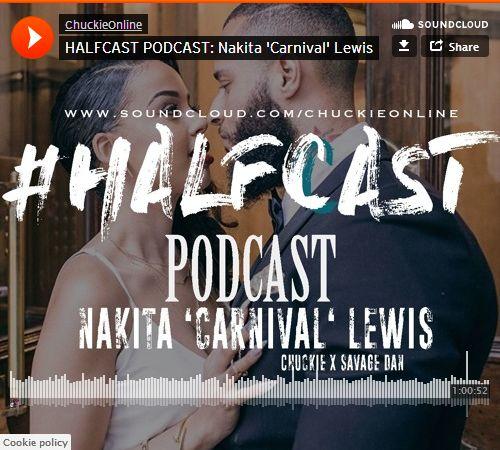 BRITHOPTV: [Podcast] ChuckieOnline (@ChuckieOnline) & Poet (@PoetsCornerUK) Savage Dan (@Savage_Dan_) - #HALFCASTPODCAST: - 'Nakita 'Carnival' Lewis' | #Relationship #NottingHillCarnival #Racism #Podcast