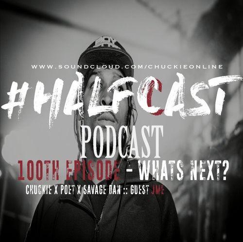 BRITHOPTV: [Podcast] ChuckieOnline (@ChuckieOnline) & Poet (@PoetsCornerUK) Savage Dan (@Savage_Dan_) - HALFCASTPODCAST: - '100th Episode with JME (@JmeBBK)' | #Grime #SocialMedia