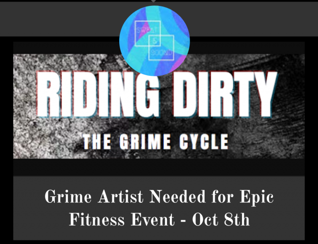 BRITHOPTV: [News] Grime MCs Needed For 'Riding Dirty - The Grime Cycle' Fitness Event - Oct 8th | #Grime #Fitness #MusicJobs