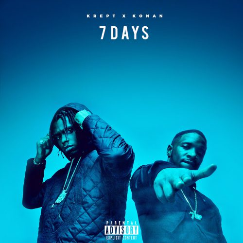 Kret and Konan 7 days Cover