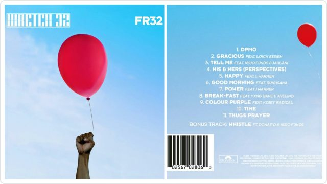 Wretch 32 #FR32 Front And Back