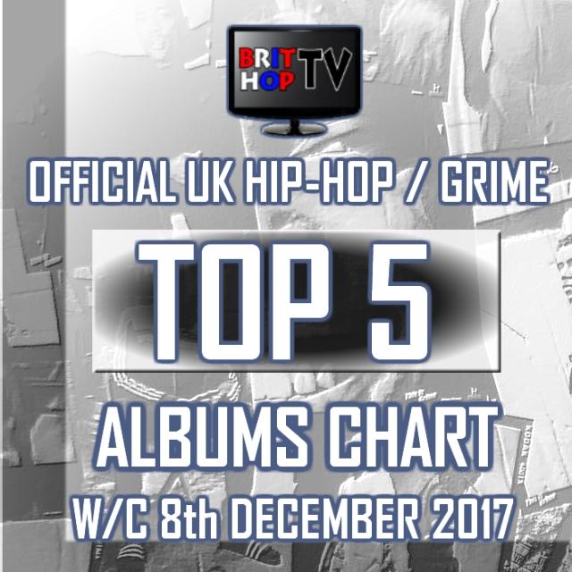 BRITHOPTV: [Chart] Official UK Hip-Hop/Grime Top 5 Albums Chart W/C 8th December 2017  | #UKRap #UKHipHop #Grime