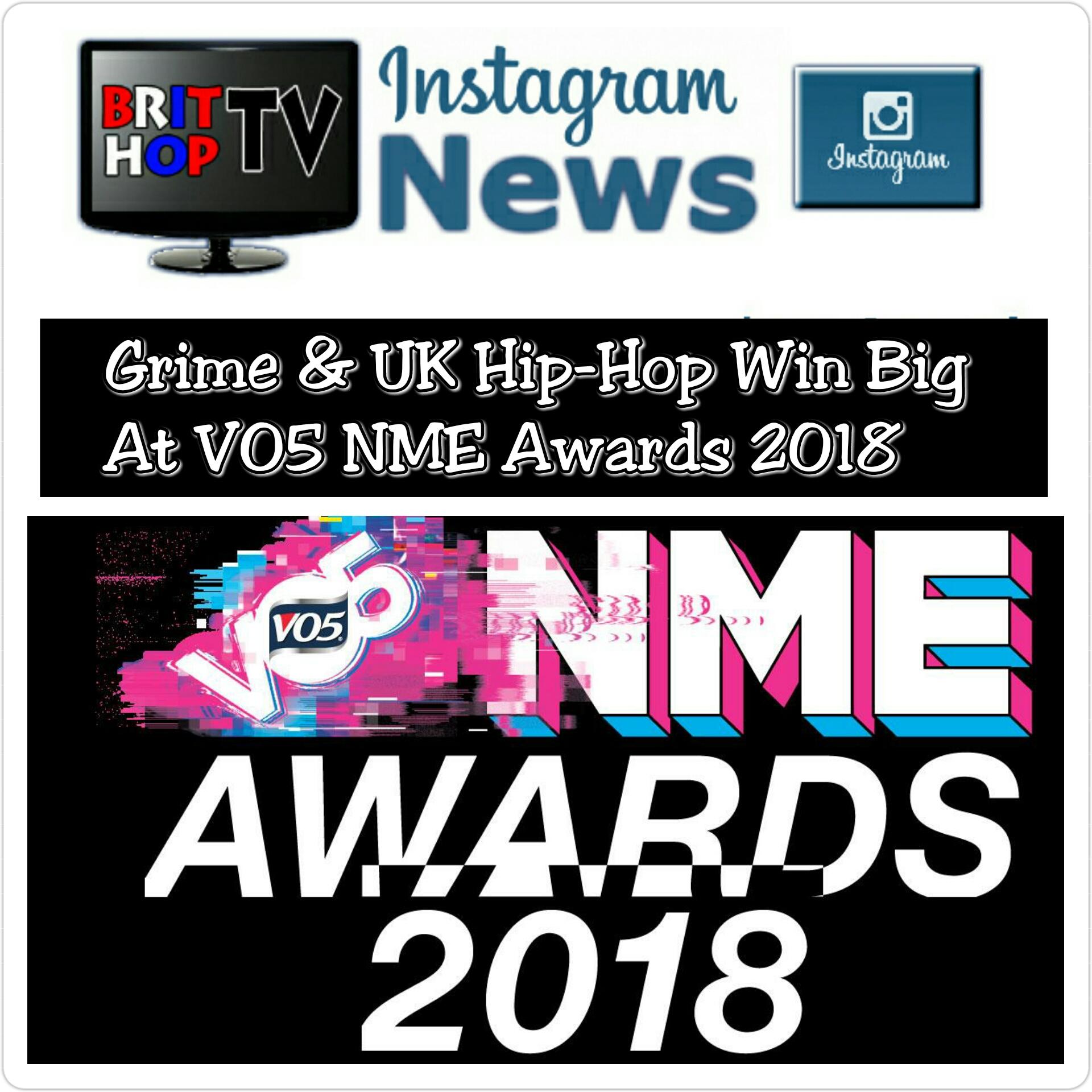 [News] Grime & UK Hip-Hop Win Big At VO5 NME Awards 2018 | #Grime #UKHipHop #MusicNews