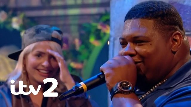BRITHOPTV: [News] Grime MC Big Narstie Plays 'What's Rappening?'On Celebrity Juice | #Grime #News