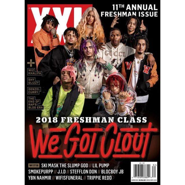 XXL Freshman 2018 Cover Issue