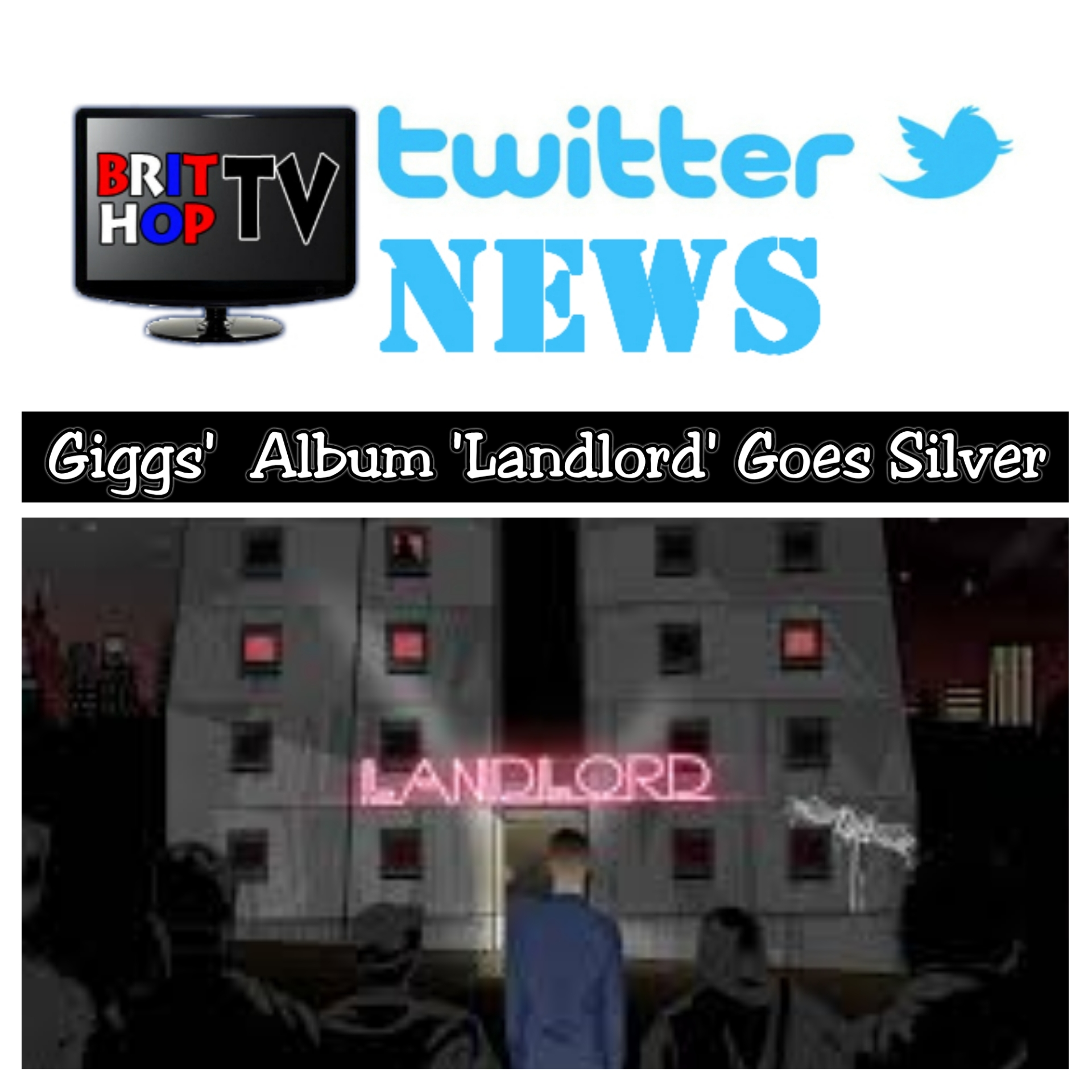 BRITHOPTV: [News] Giggs (@officialGiggs) – 'Landlord' Goes Silver | #UKRap #UKHipHop #MusicNews #MusicNews