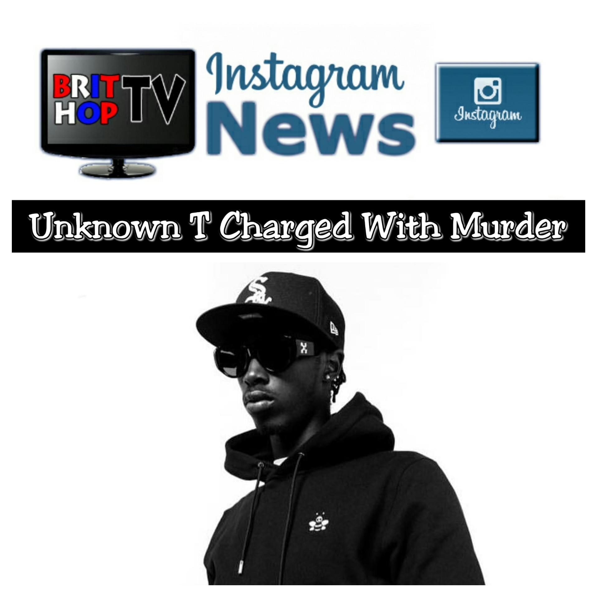 BRITHOPTV: [News] Drill Artist Unknown T Charged With Murder | #UKDill #Drill #KnifeCrime