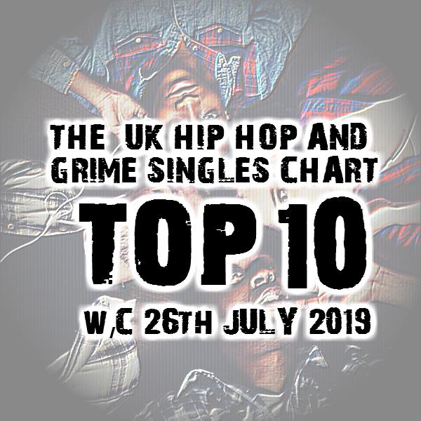 BRITHOPTV: [Chart] Official UK Hip-Hop/Grime Top 10 Singles Chart W/C 26th July 2019 | #UKRap #UKHipHop #Grime