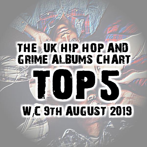 BRITHOPTV: [Chart] Official UK Hip-Hop/Grime Top 5 Albums Chart W/C 9th August 2019 | #UKRap #UKHipHop #Grime