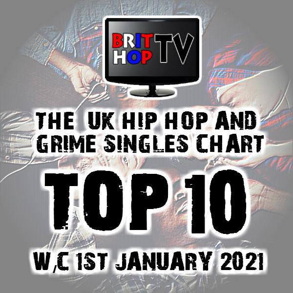 BRITHOPTV: [Chart] Official UK Hip-Hop/Grime Top 10 Singles Chart W/C 1st January 2021 | #UKRap #UKHipHop #Grime
